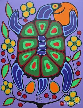 Turtle Mother by Jim Oskineegish