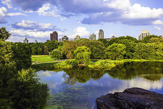 Vista Rock View 2  - Central Park - Manhattan by Madeline Ellis