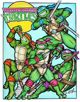 Turtle Power by Derrick Rathgeber