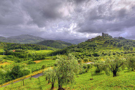 Matt Swinden - Tuscan Church on the Hill