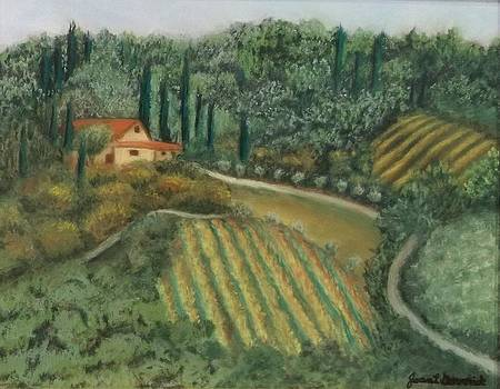 Tuscan Countryside by Joan Garverick