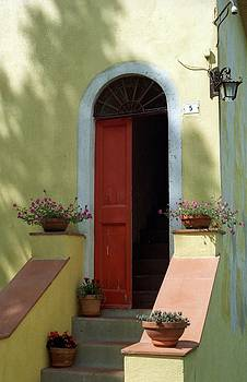 Tuscan Door by Susie Rieple