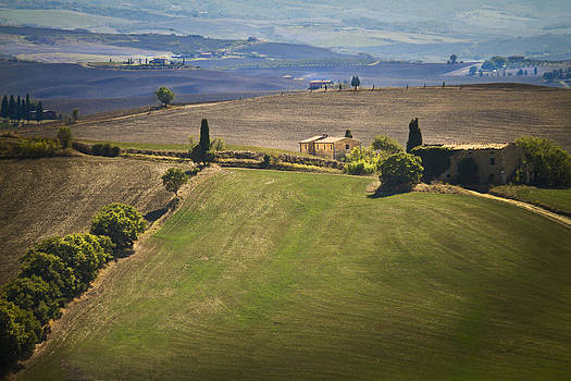 Tuscan Landscape by John Hix
