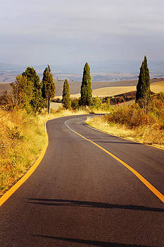 Tuscan Road by Vaida Abdul