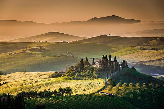 Francesco Riccardo  Iacomino - Tuscan sunrise