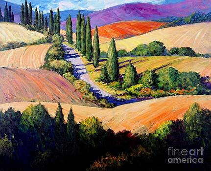 Tuscan Trail by Michael Swanson