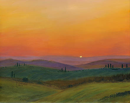Tuscan Twilight 1 by Cecilia Brendel