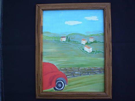 Tuscany Cruisin by Harold Messler