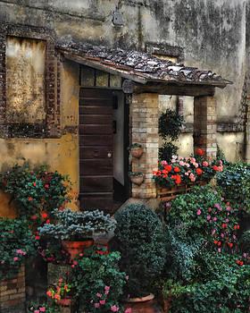 Tuscany Garden Shed by Deborah Jahier
