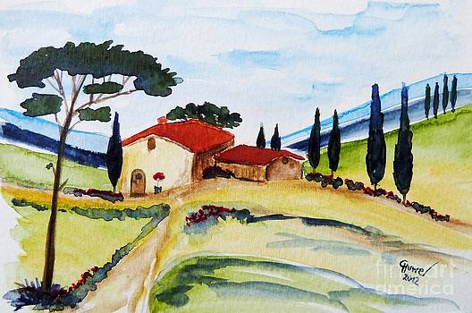 Tuscany- Harmony by Christine Huwer