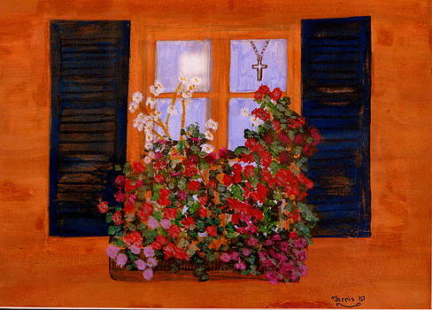 Tuscany Window Box by Larry Farris