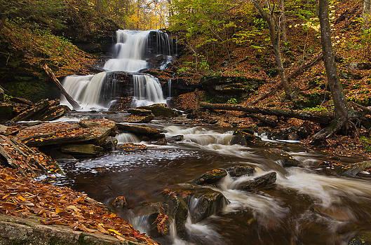 Tuscarora Falls by Ulrich Burkhalter