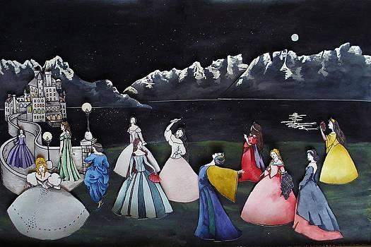 Twelve Dancing Princesses by Ally Mueller