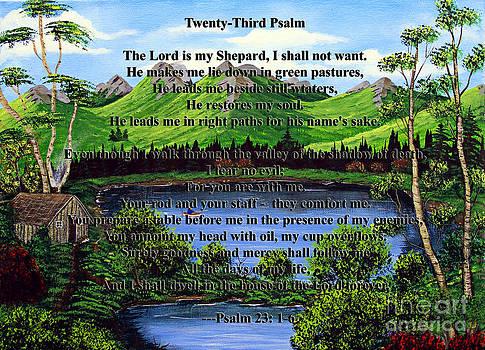 Barbara Griffin - Twenty-Third Psalm and Twin Ponds