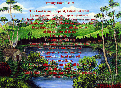 Barbara Griffin - Twenty-Third Psalm