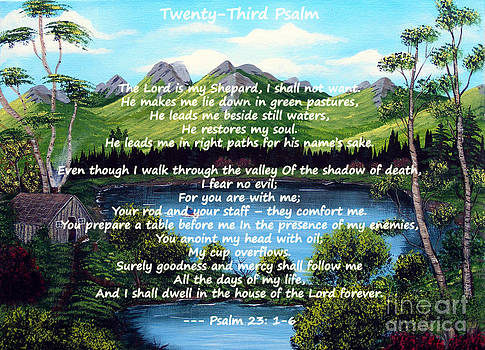 Barbara Griffin - Twenty-third Psalm on Twin Ponds