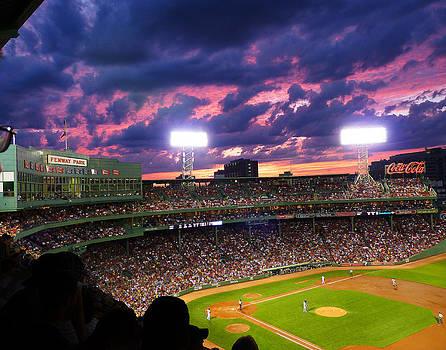 Twilight Baseball by Carl Sheffer