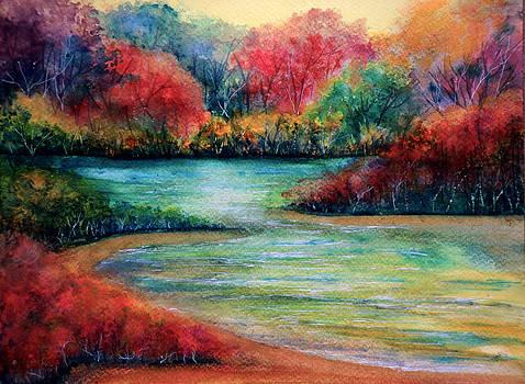 Twilight Beach by Ann Marie Bone