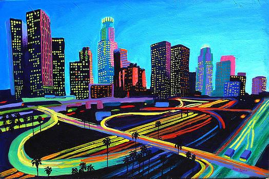 Twilight Highway The 110 by Sean Boyce