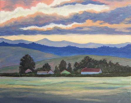 Twilight in the Valley by Cynthia Riley