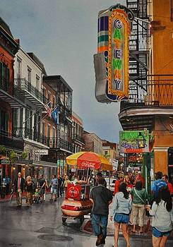 Twilight on Bourbon by Robert W Cook