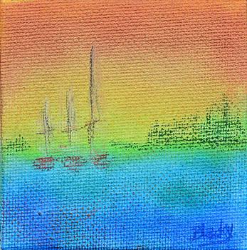 Donna Blackhall - Twilight On Evergreen Bay