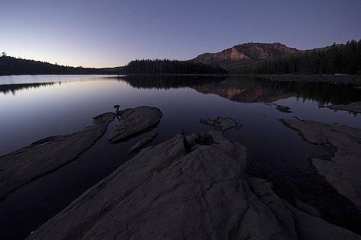 Twilight on Silver Lake by Eleanor Caputo