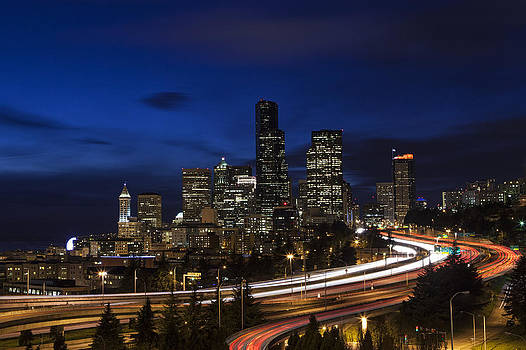 Twilight Over Seattle by Summer Kozisek