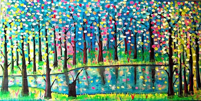 Twilight Pond by Shirley Smith