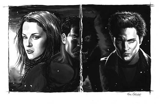 Twilight Portrait by Ken Branch