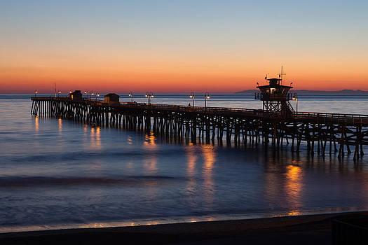 Cliff Wassmann - Twilight San Clemente Pier