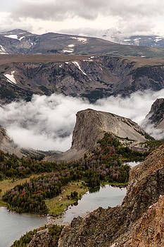 Twin Lakes Wyoming by Troy Montemayor