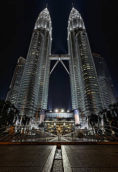Twin Skyscrapers by Mario Legaspi