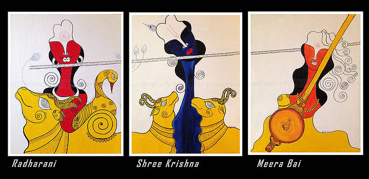 Twin Souls Of Krishna - Of love and passion by Shachi Srivastava