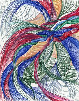 Twirls and Cloth by Kelly K H B