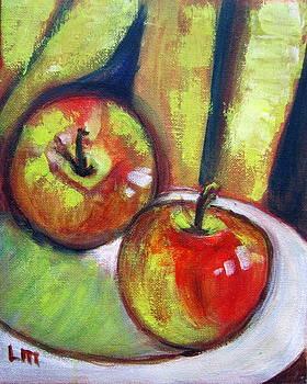 Two  Apples by Lia  Marsman