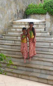 two Bali Beauties  by Jack Adams