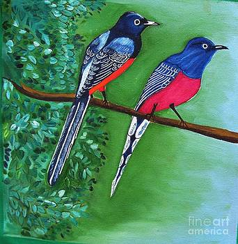 Two Bird by Purnima Jain