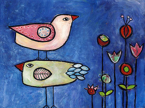 Two Birds by Susie Lubell
