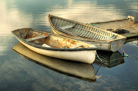 Two Boats at Peggys Cove by Rob Huntley