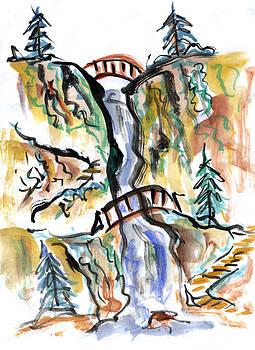 Ellen Miffitt - Two Bridges