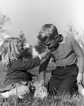 Hans Namuth - Two Children