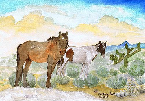 Two Desert Veterans by Michele Ross