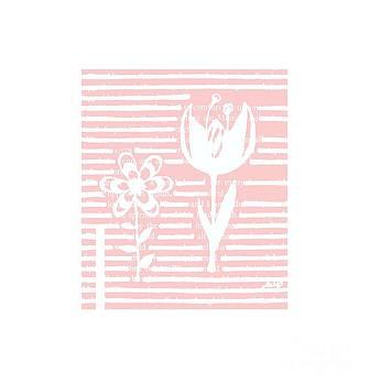 Ioanna Papanikolaou - two doodle flowers