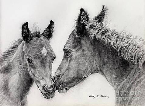 Hailey E Herrera - Two Foals