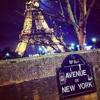 Two Great Cities. Paris Vs New York by Sarah Dawson