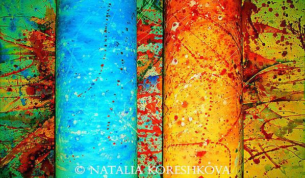 Two Lamps  by Natalia Koreshkova