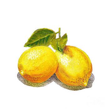 Irina Sztukowski - Two Lemons