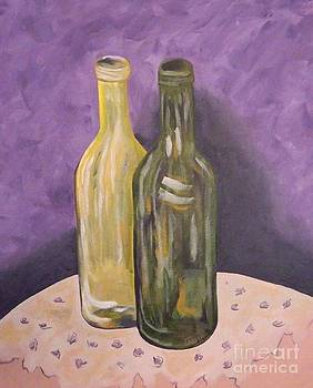 Two More Bottles of Wine by Tanja Beaver