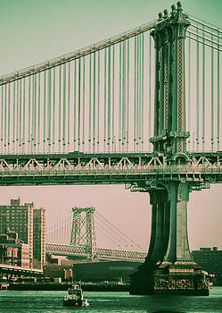 Two New York Bridges by James Canning